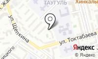 Тарбагатай на карте