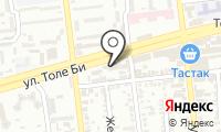 Алау на карте