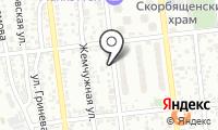 Участковый пункт полиции №8 Алмалинского района на карте