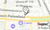 Улы Асу на карте
