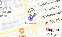 Тамарк на карте
