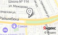 SCT servise на Райымбека на карте