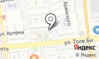 У Артема на карте