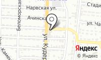 Hansa Flex на карте