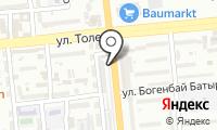 Ак-Орда на карте