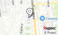 Федерация регби г. Алматы на карте