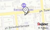 Нотариус Кенжебаева А.С. на карте