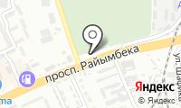 Западное кладбище на карте