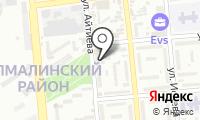 Гаухар на карте