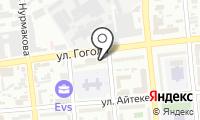Жетысу на карте