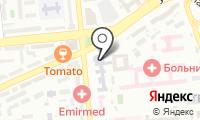 Международный университет информационных технологий на карте