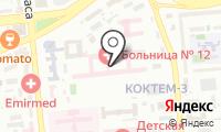 Центральная городская клиническая больница №12 на карте