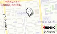 Участковый пункт полиции №41 Бостандыкского района на карте
