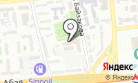 Департамент комитета национальной безопасности Республики Казахстан по г. Алматы на карте