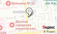 Департамент по чрезвычайным ситуациям г. Алматы на карте