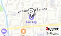 Бастау на карте