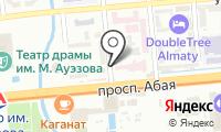 Карепрост на карте