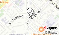 Ветеринарная клиника на Маркова на карте