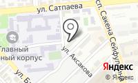 Участковый пункт полиции №45 Бостандыкского района на карте