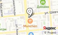 Магазин индийского трикотажа на проспекте Сейфуллина на карте