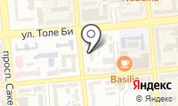 Департамент по делам обороны г. Алматы на карте