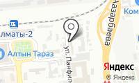Гостиница №1 на карте