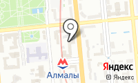Нур Отан на карте