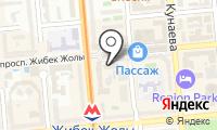 Алаумунайгаз на карте