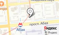 Комитет по развитию регионального финансового центра по г. Алматы НБ Республики Казахстан на карте