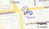 Национальная государственная книжная палата Республики Казахстан на карте
