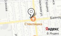 Асель на карте