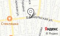 Равиль на карте