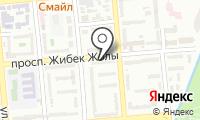 Пункт ремонта обуви на проспекте Жибек Жолы на карте
