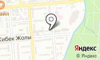 Нотариус Карчегенова М.К. на карте