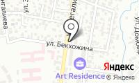Улан на карте