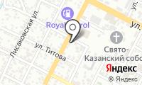 Дудаев и КО на карте