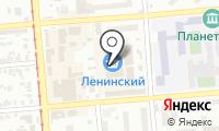 Ленинский рынок на карте