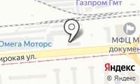 Атом на карте