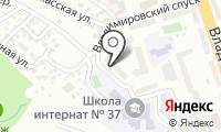 Отдел судебных приставов по Железнодорожному району на карте