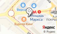 Станция Площадь Маркса на карте
