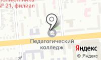 Новосибирский профессионально-педагогический колледж на карте