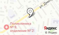 Морена-Обь на карте