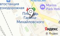 Станция Площадь Гарина-Михайловского на карте