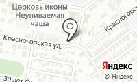 Святой Павел на карте