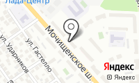 Торговый центр БВК на карте