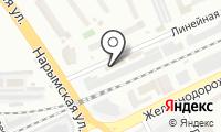 Флориус на карте