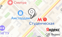 Почтовое отделение НОВОСИБИРСК 73 на карте