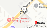 Автоглобус-25 на карте