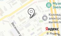 Новосибирский областной дом ночного пребывания на карте