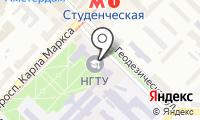 Новосибирская ассоциация лицеев и гимназий на карте